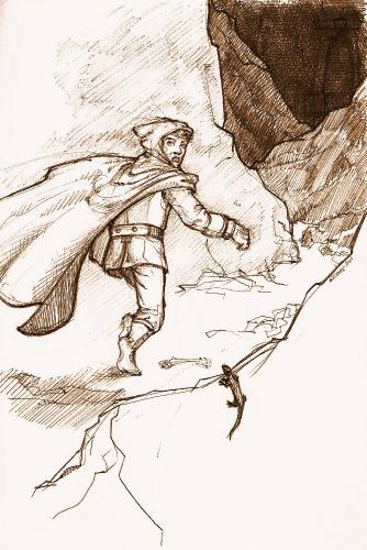 bilbo at the lonely mountain
